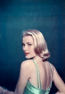 "Caption: US actress, Grace KELLY, posing for ""Life"" magazine. 1954. © Philippe Halsman/Magnum Photos"